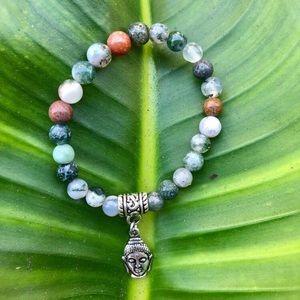 Jewelry - Buddha Semi- Precious Stone Bracelet